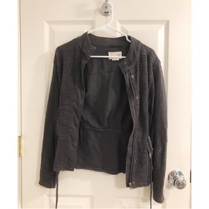 Anthropologie Grey Jacket (Size S)